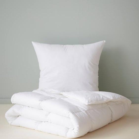 Premium-Bettdecke mit Daunen-Touch, Kinder weiß