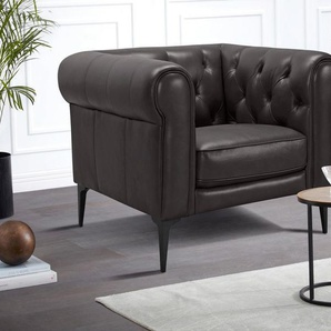 Premium collection by Home affaire Sessel »Tobol«, im modernen Chesterfield Design