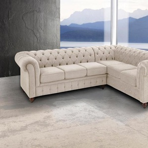 Premium collection by Home affaire Ecksofa »Chesterfield«