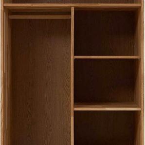 Premium collection by Home affaire Inneneinteilung »Tommy«, aus schönem massivem Wildeichenholz, Höhe 150 cm