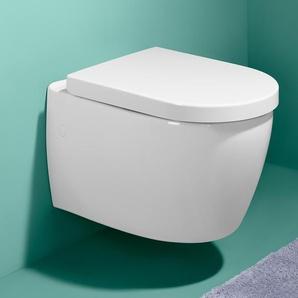 Premium-WC-Sitz mit Absenkautomatik - Weiß -
