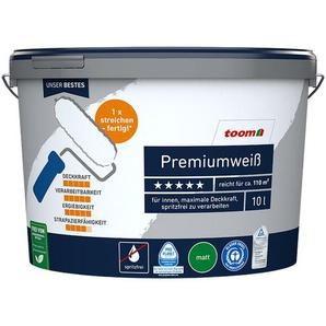 Premiumweiß 10 Liter konservierungsmittelfrei