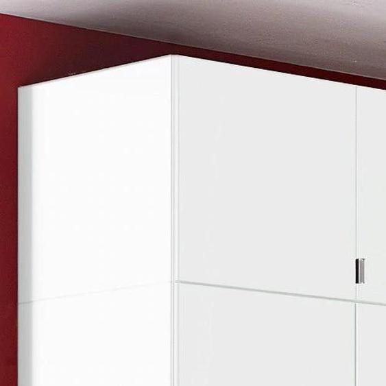 priess Schrankaufsatz Madrid 94x54x43 cm, weiß Zubehör für Kleiderschränke Möbel Möbelaufsätze
