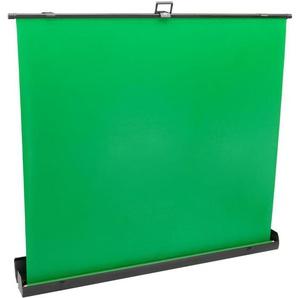 PrimeMatik - Ausfahrbares Chroma Key Panel. Muslin Faltbare Hintergrund grün für Fotografie und Video 170x200cm