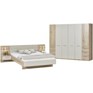 uno Komplett-Schlafzimmer, 4-teilig   Paris | holzfarben | 282 cm | 226 cm | 60 cm | Möbel Kraft