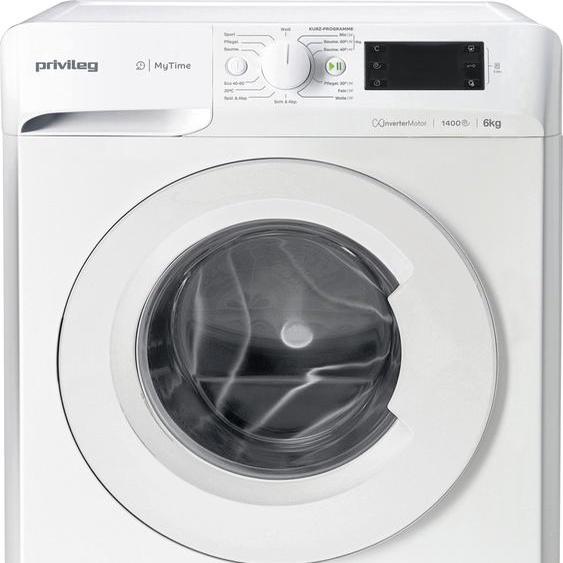 Privileg Waschmaschine OPWF MT 61483, 6 kg, 1400 U/min, Energieeffizienz: D