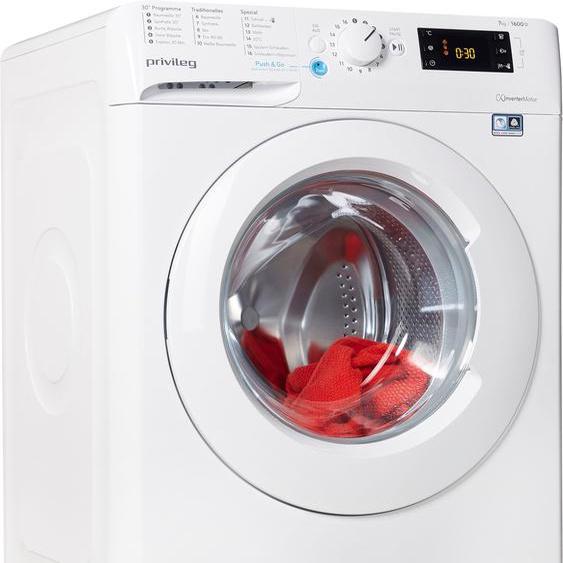 Privileg Waschmaschine PWF X 763 N, 7 kg, 1600 U/min, Energieeffizienz: E