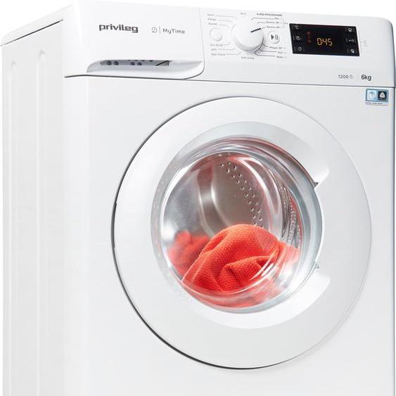Privileg Waschmaschine PWFS MT 61252, 6 kg, 1200 U/min, nur 42,5cm tief, Energieeffizienz: F