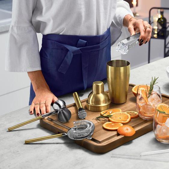 Professionelles Cocktail-Set - gold - Edelstahl -