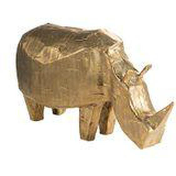 Pulpo - Dekofigur Nashorn, Bronze