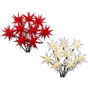 Pureday LED-Lichterkette 3D-Sterne