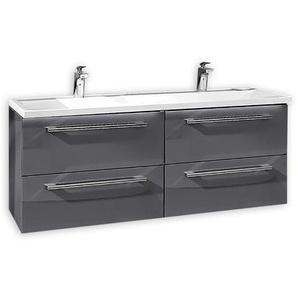 Puris Waschtischunterschrank, Grau