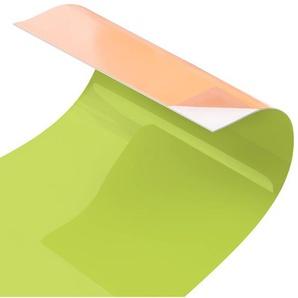 Hart-Kunststofffolie Spritzschutzpaneel Selbstklebend Frühlingsgrün Baggett