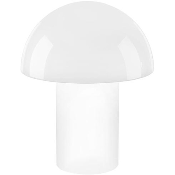 Q-Smart Home Lights Tischleuchte, Glas `Pilz` ¦ weißØ: 34