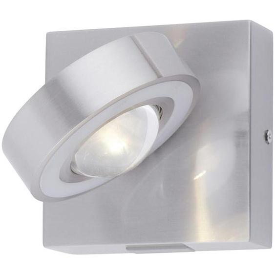 Q-Smart Home Lights Wandleuchte, 1-flammig Nickel matt ¦ silber