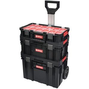 Qbrick System Two Werkstattwagen Basis-Set, mit 3 stabelbaren Werkzeugkisten