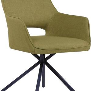 Stuhl »Austin« mit Armlehne oder im 2er Set ohne Armlehne