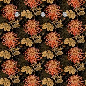 queence Garderobe Blumen B/H/T: 80 cm x 120 5 orange Garderobenpaneele Garderoben
