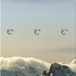 Garderobenpaneel Berge 0, (B/H): 50/125 cm, 50x125 cm grau Garderobenpaneele Garderoben