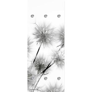 Garderobenpaneel Pusteblumen 0, (B/H): 50/125 cm, 50x125 cm grau Garderobenpaneele Garderoben