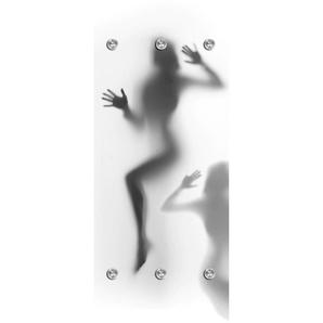 queence Garderobenpaneel Satin 0, 50x10x125 cm grau Garderobenpaneele Garderoben