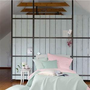 Quilt Blasstürkis - bunt - 100 % Baumwolle - Tagesdecken & Quilts - Überwürfe & Sofaüberwürfe