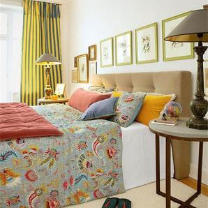 Quilt Provence - bunt - 100 % Baumwolle - Tagesdecken & Quilts - Überwürfe & Sofaüberwürfe