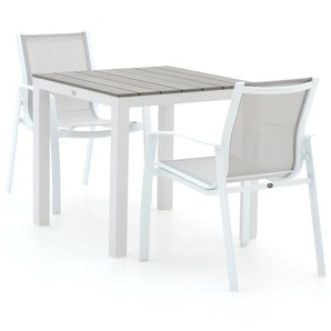 R&S Design Altea/Fidenza 78 cm Esstischgruppe 3-teilig stapelbar