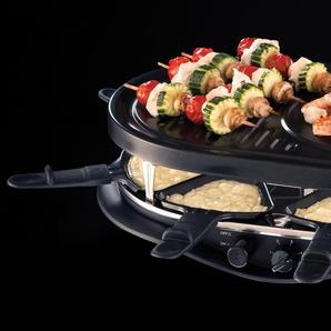 RUSSELL HOBBS Raclette 21000-56 Fiesta Multi Raclette, schwarz, spülmaschinenfest, ,