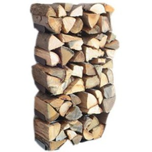 Radius - Wooden Tree Kaminholzwandregal - S