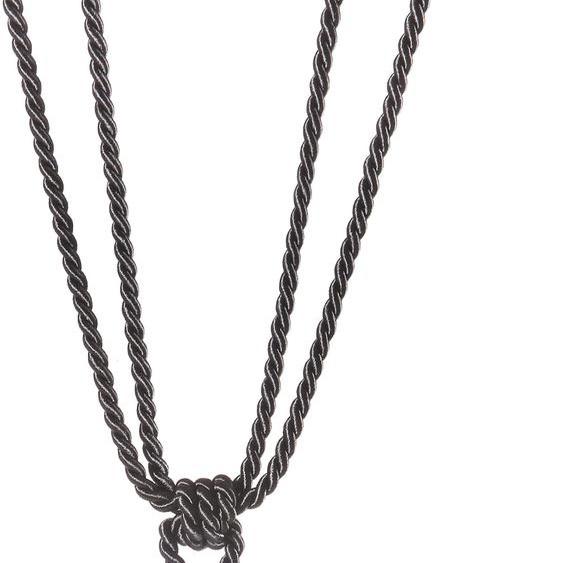 Raffhalter Sanja, Gerster, passend für Gardinen B: 80 cm grau Zubehör Vorhänge