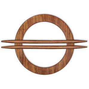 Raffspange »Wilja«, Gerster, Gardinen, (Packung, 2-tlg), aus Holz
