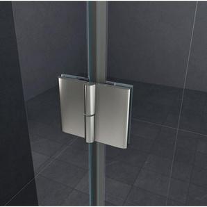 rahmenlose Duschkabine LUXORLINE 90 x 75 x 195 cm ohne Duschtasse - GLASDEALS