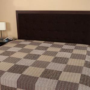 Rajrang Handarbeit Tagesdecke Baumwolle schwarz Handarbeit Doppelzimmer Bettlaken