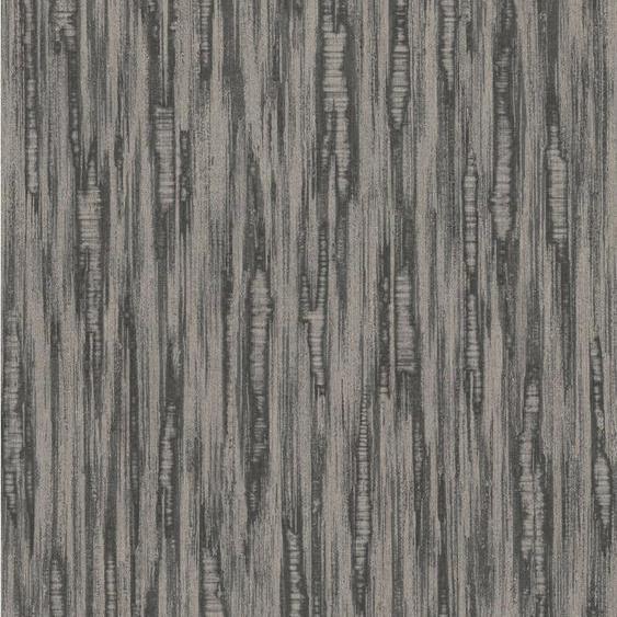 Rasch Vliestapete »BARBARA Home Collection II«, geprägt, uni, Metall-Effekte, (1 St)