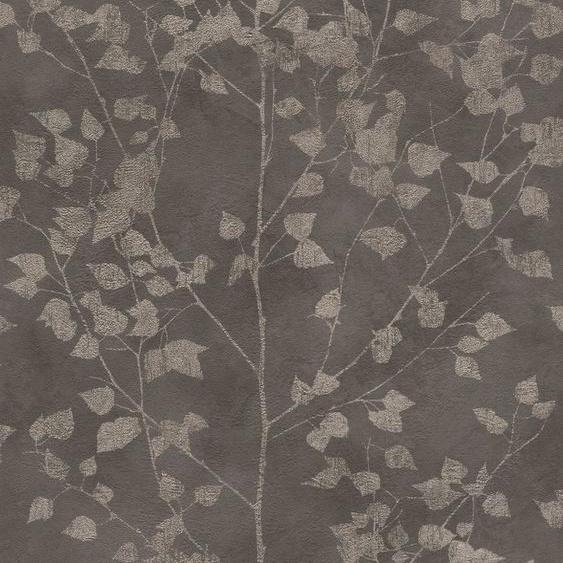 Rasch Vliestapete »Finca«, geprägt, gemustert, botanisch, (1 St)