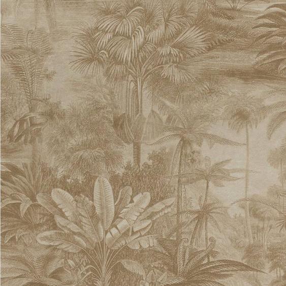 Rasch Vliestapete »Kerala«, glatt, gemustert, botanisch, (1 St)