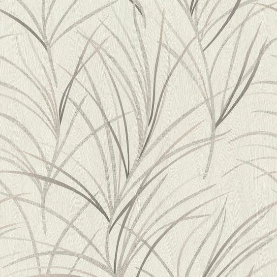 Rasch Vliestapete »#ROCKNROLLE«, geprägt, gemustert, botanisch, (1 St)