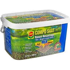 Rasen-Neuanlage Compo Saat Saat/Dünger 2,2 kg