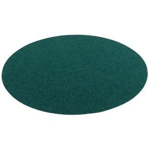 Rasenteppich »Kunstrasen Rasenteppich mit Noppen Kingston Rund«, Snapstyle, Rund, Höhe 7 mm