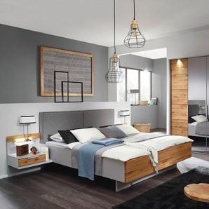 Rauch black Schlafzimmer-Set, Grau, Holzoptik