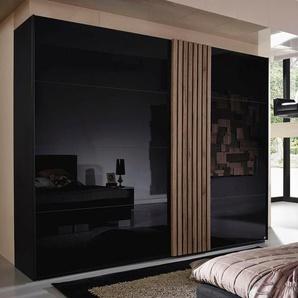 rauch BLACK Schwebetürenschrank »Tegio« mit Holzdekoraufleistung