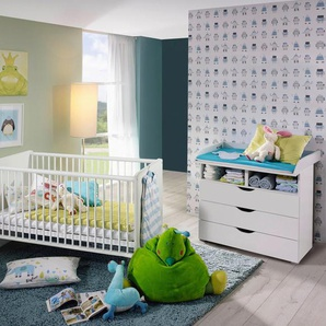 rauch BLUE Babymöbel-Set »Bristol«, (Spar-Set, 2-St), Bett + Wickelkommode