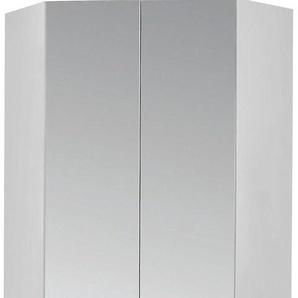 Rauch Eckkleiderschrank »Celle«, mit hochglänzenden Fronten, Höhe 210 cm, weiß