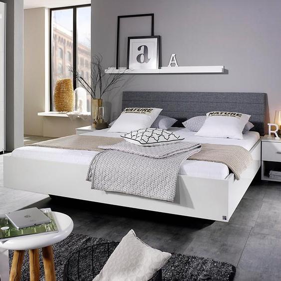 rauch BLUE Futonbett Halle 180x200 cm Höhe Bettseite: 41 cm, ohne Matratze weiß Einzelbetten Betten