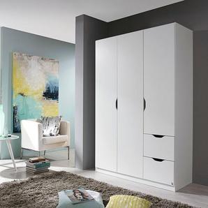 Rauch Kleider-Schrank »Freiham«, Breite 136 cm, 3-türig, weiß