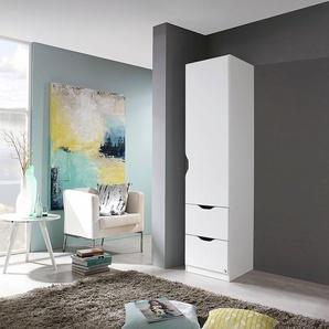 Rauch Kleiderschrank »Freiham«, 45 x 197 x 54 BxHxT cm, T/H 54/197 cm, weiß