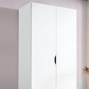 Rauch Kleiderschrank »Freiham«, T/H 54/197 cm, weiß