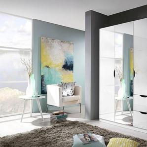 Rauch Kleiderschrank »Freiham«, weiß, mit Spiegeltüren