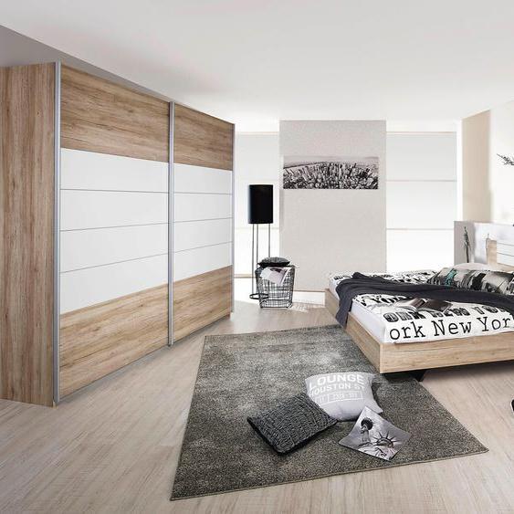rauch BLUE Schlafzimmer-Set Barcelona (Set, 4-tlg) Einheitsgröße beige Komplett Schlafzimmer Betten Schlafzimmermöbel-Sets